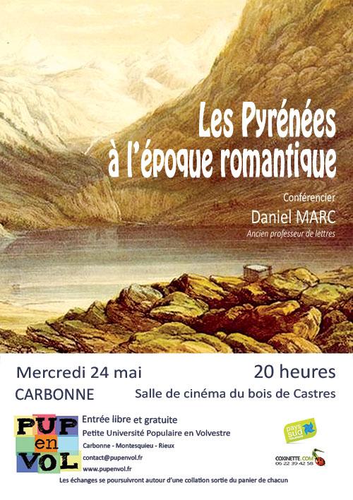 PUPenVOL - Les Pyrénées à l'époque romantique