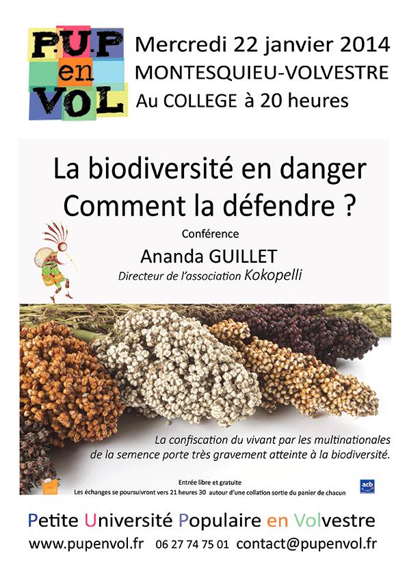 La biodiversité en danger. Comment la défendre ?