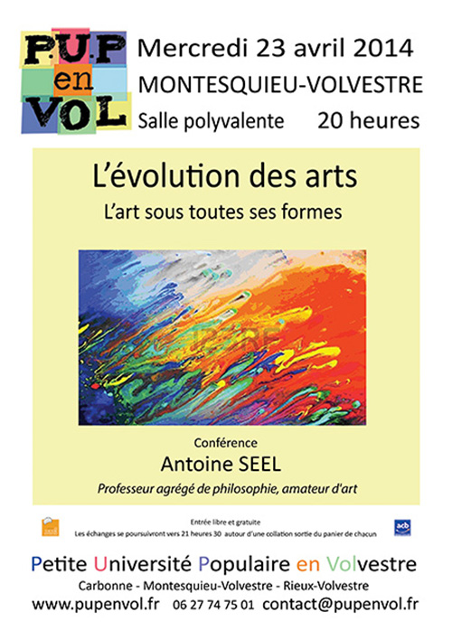 Pour une vision optimiste et populaire de l'évolution des arts