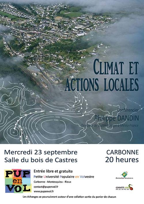 Climat et actions locales