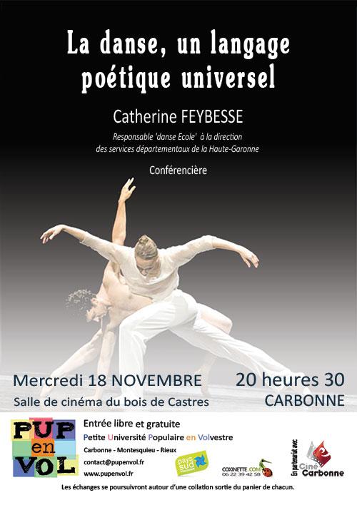 La danse, un langage poétique universel