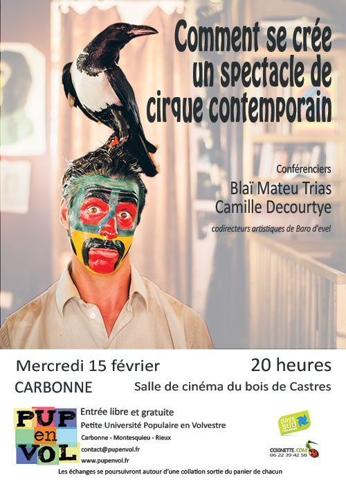 Comment se crée un spectacle de cirque contemporain