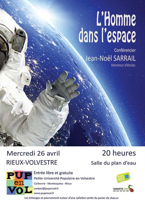 L'Homme dans l'espace