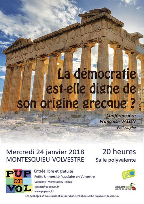 La démocratie est-elle digne de ses origines grecques ?