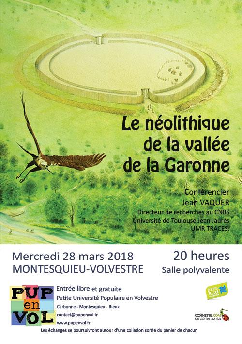 Le Néolithique de la vallée de la Garonne
