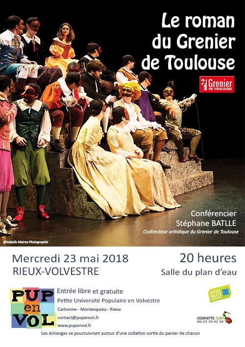 Le roman du Grenier de Toulouse