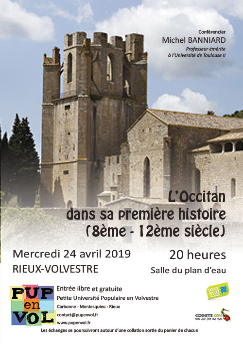 PUPenVOL - L'Occitan dans sa première histoire (8ème – 12ème siècle)
