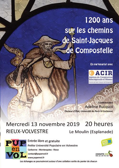 1200 ans sur les chemins de Saint-Jacques de Compostelle